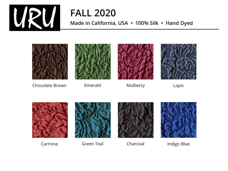 fall 2020 color card